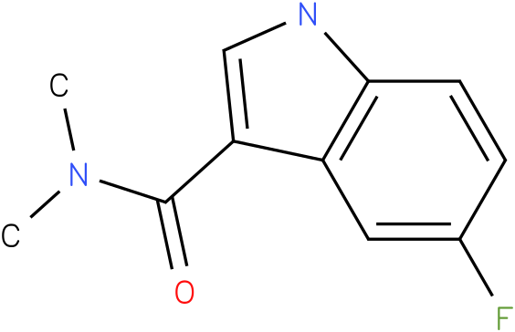 5-Fluoro-1H-indole-3-carboxylic acid dimethylamide