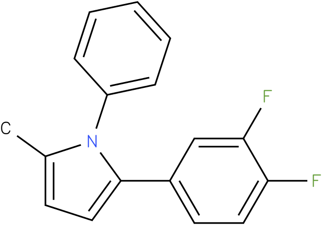2-(3,4-Difluoro-phenyl)-5-methyl-1-phenyl-1H-pyrrole