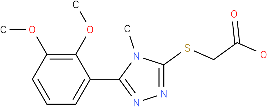 [5-(2,3-Dimethoxy-phenyl)-4-methyl-4H-[1,2,4]triazol-3-ylsulfanyl]-acetic acid
