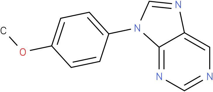9-(4-Methoxy-phenyl)-9H-purine