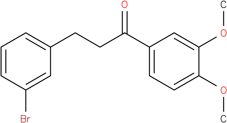 3-(3-Bromo-phenyl)-1-(3,4-dimethoxy-phenyl)-propan-1-one