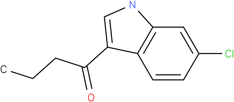 1-(6-Chloro-1H-indol-3-yl)-butan-1-one