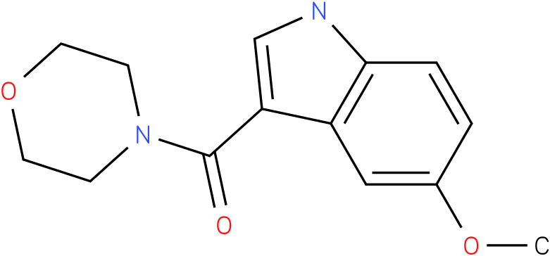 (5-Methoxy-1H-indol-3-yl)-morpholin-4-yl-methanone
