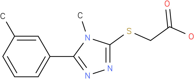 (4-Methyl-5-m-tolyl-4H-[1,2,4]triazol-3-ylsulfanyl)-acetic acid