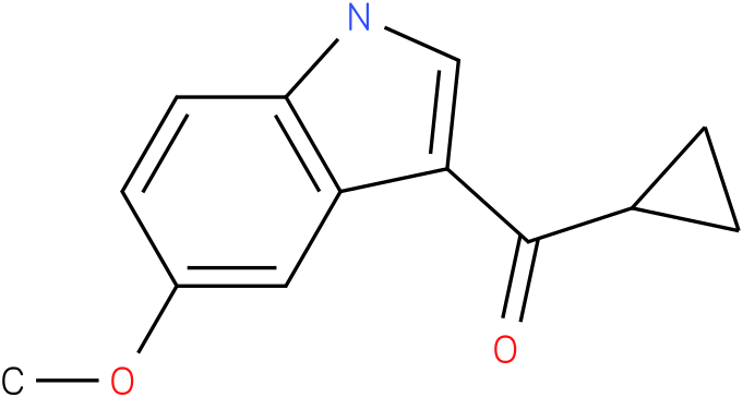Cyclopropyl-(5-methoxy-1H-indol-3-yl)-methanone