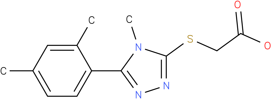 [5-(2,4-Dimethyl-phenyl)-4-methyl-4H-[1,2,4]triazol-3-ylsulfanyl]-acetic acid