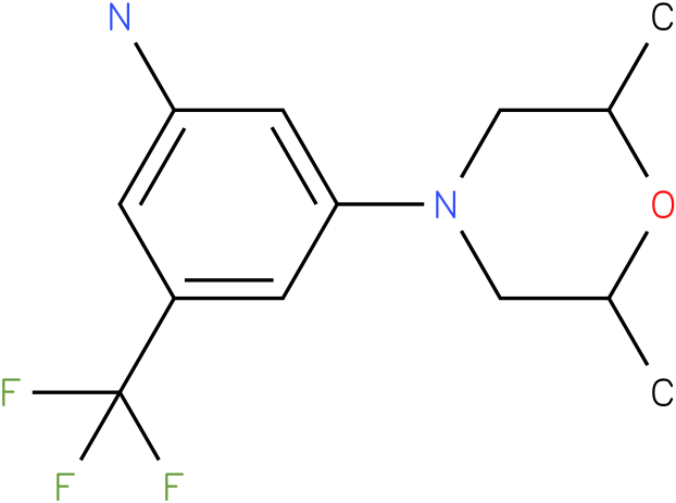 3-(2,6-Dimethyl-morpholin-4-yl)-5-trifluoromethyl-phenylamine