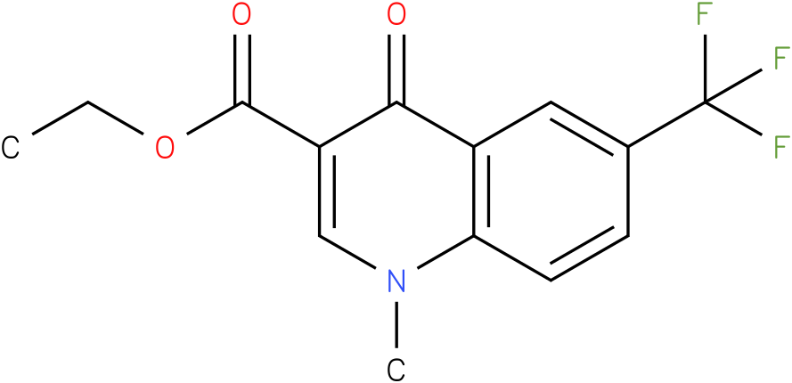 1-Methyl-4-oxo-6-trifluoromethyl-1,4-dihydro-quinoline-3-carboxylic acid ethyl ester