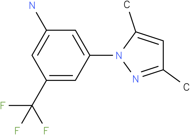 3-(3,5-Dimethyl-pyrazol-1-yl)-5-trifluoromethyl-phenylamine