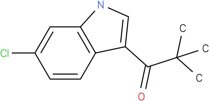 1-(6-Chloro-1H-indol-3-yl)-2,2-dimethyl-propan-1-one