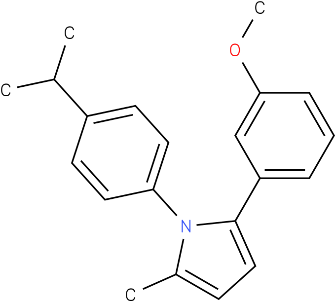 1-(4-Isopropyl-phenyl)-2-(3-methoxy-phenyl)-5-methyl-1H-pyrrole