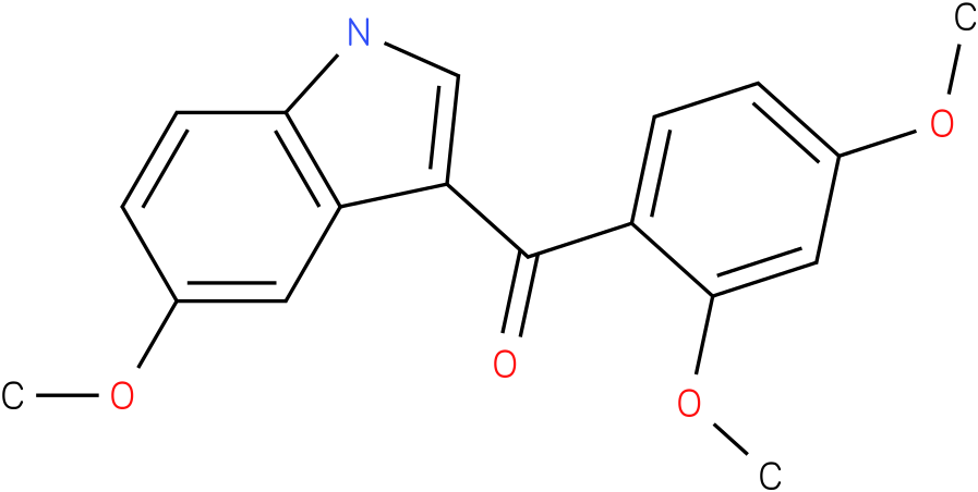 (2,4-Dimethoxy-phenyl)-(5-methoxy-1H-indol-3-yl)-methanone