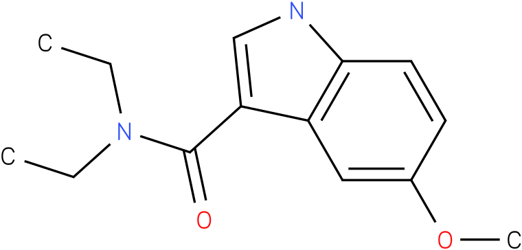 5-Methoxy-1H-indole-3-carboxylic acid diethylamide