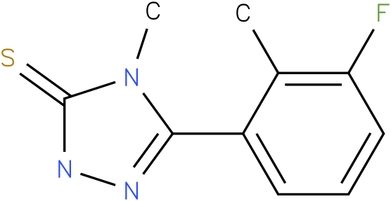 5-(3-Fluoro-2-methyl-phenyl)-4-methyl-2,4-dihydro-[1,2,4]triazole-3-thione