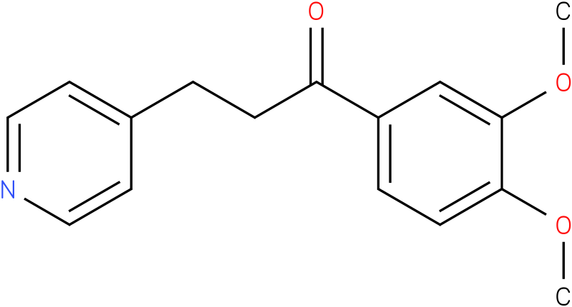 1-(3,4-Dimethoxy-phenyl)-3-pyridin-4-yl-propan-1-one