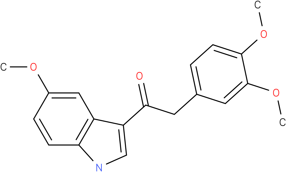 2-(3,4-Dimethoxy-phenyl)-1-(5-methoxy-1H-indol-3-yl)-ethanone