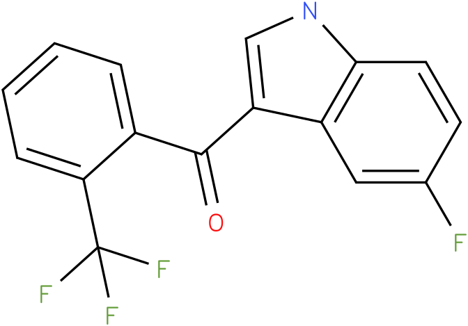 (5-Fluoro-1H-indol-3-yl)-(2-trifluoromethyl-phenyl)-methanone