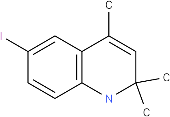 6-Iodo-2,2,4-trimethyl-1,2-dihydro-quinoline