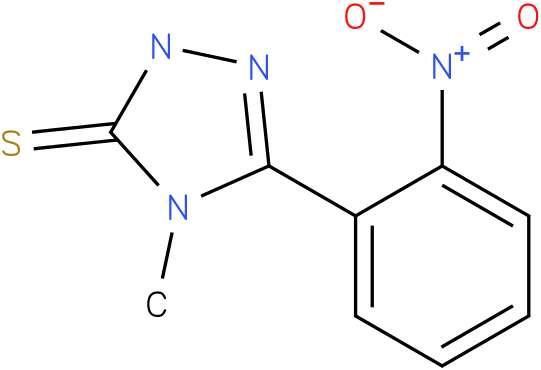 4-Methyl-5-(2-nitro-phenyl)-2,4-dihydro-[1,2,4]triazole-3-thione