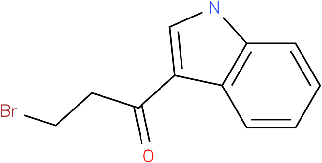 3-Bromo-1-(1H-indol-3-yl)-propan-1-one