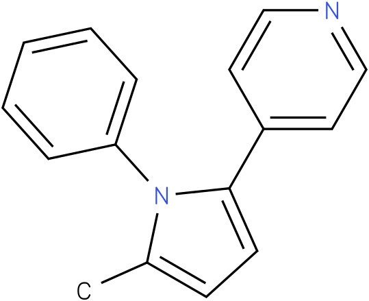 4-(5-Methyl-1-phenyl-1H-pyrrol-2-yl)-pyridine