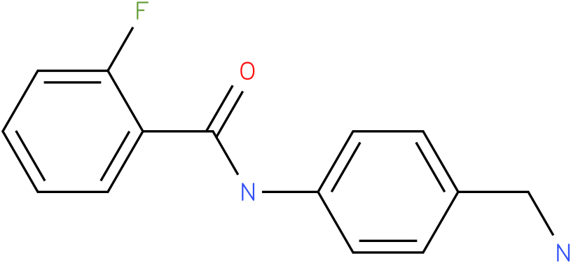 N-(4-Aminomethyl-phenyl)-2-fluoro-benzamide