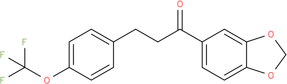1-Benzo[1,3]dioxol-5-yl-3-(4-trifluoromethoxy-phenyl)-propan-1-one
