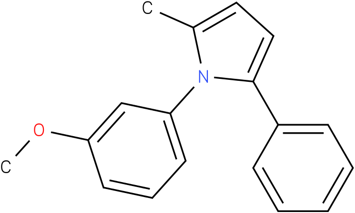 1-(3-Methoxy-phenyl)-2-methyl-5-phenyl-1H-pyrrole