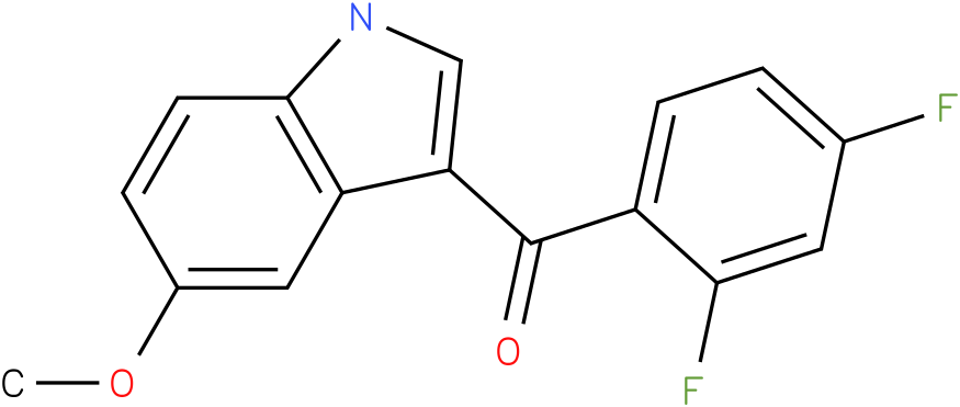 (2,4-Difluoro-phenyl)-(5-methoxy-1H-indol-3-yl)-methanone