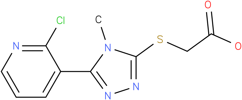 [5-(2-Chloro-pyridin-3-yl)-4-methyl-4H-[1,2,4]triazol-3-ylsulfanyl]-acetic acid