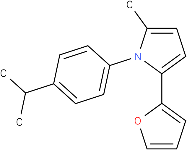 2-Furan-2-yl-1-(4-isopropyl-phenyl)-5-methyl-1H-pyrrole