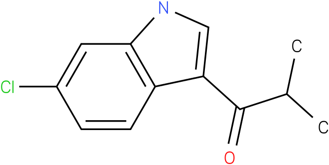 1-(6-Chloro-1H-indol-3-yl)-2-methyl-propan-1-one