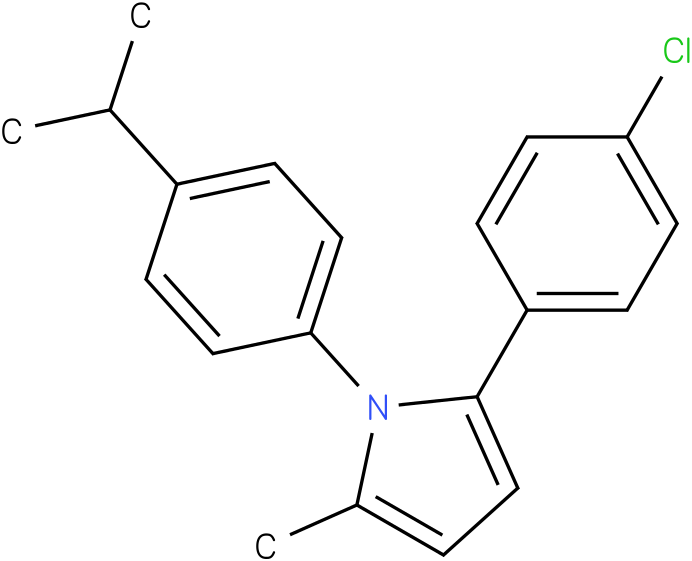 2-(4-Chloro-phenyl)-1-(4-isopropyl-phenyl)-5-methyl-1H-pyrrole