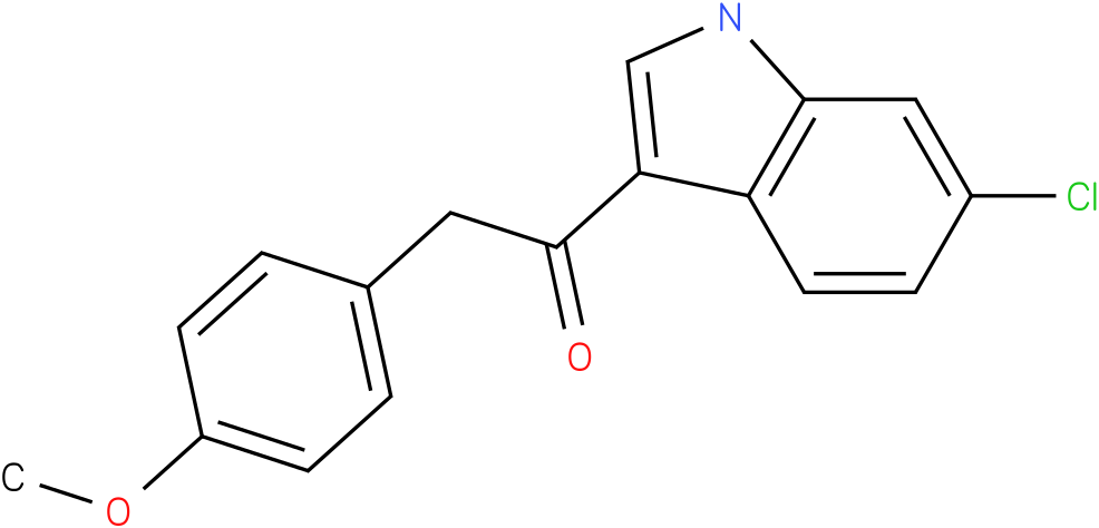 1-(6-Chloro-1H-indol-3-yl)-2-(4-methoxy-phenyl)-ethanone