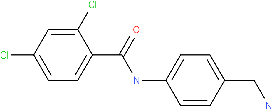 N-(4-Aminomethyl-phenyl)-2,4-dichloro-benzamide