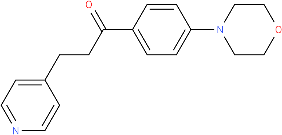 1-(4-Morpholin-4-yl-phenyl)-3-pyridin-4-yl-propan-1-one