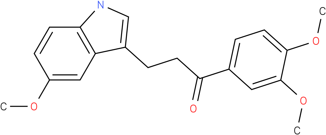 1-(3,4-Dimethoxy-phenyl)-3-(5-methoxy-1H-indol-3-yl)-propan-1-one