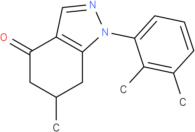 1-(2,3-Dimethyl-phenyl)-6-methyl-1,5,6,7-tetrahydro-indazol-4-one