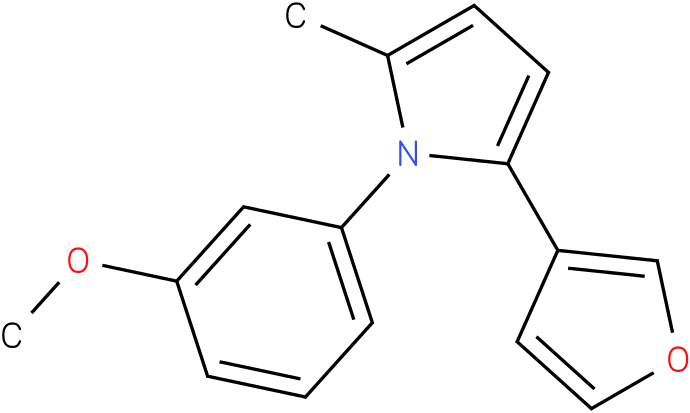2-Furan-3-yl-1-(3-methoxy-phenyl)-5-methyl-1H-pyrrole