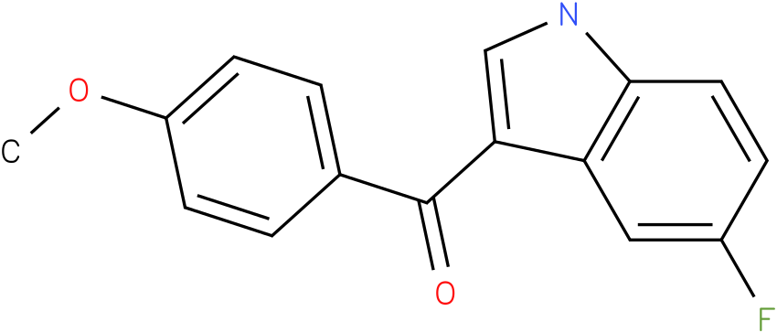 (5-Fluoro-1H-indol-3-yl)-(4-methoxy-phenyl)-methanone