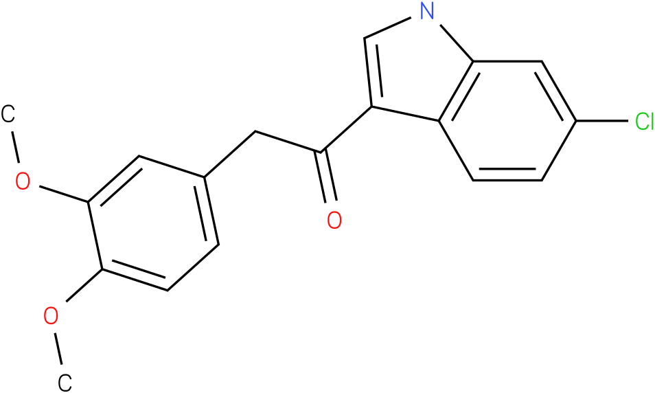 1-(6-Chloro-1H-indol-3-yl)-2-(3,4-dimethoxy-phenyl)-ethanone