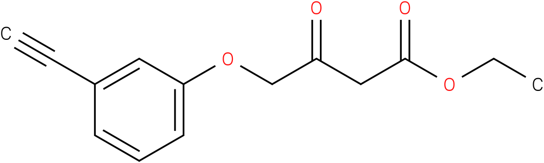 4-(3-Ethynyl-phenoxy)-3-oxo-butyric acid ethyl ester