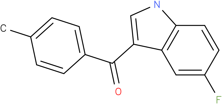 (5-Fluoro-1H-indol-3-yl)-p-tolyl-methanone