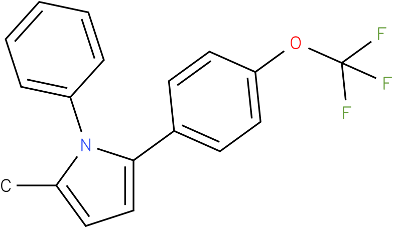 2-Methyl-1-phenyl-5-(4-trifluoromethoxy-phenyl)-1H-pyrrole