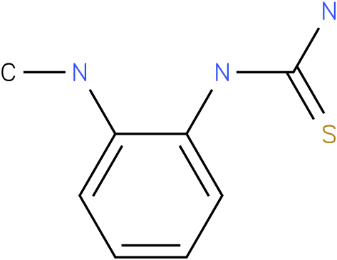 (2-Methylamino-phenyl)-thiourea