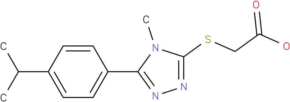 [5-(4-Isopropyl-phenyl)-4-methyl-4H-[1,2,4]triazol-3-ylsulfanyl]-acetic acid