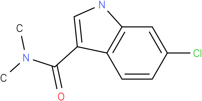 6-Chloro-1H-indole-3-carboxylic acid dimethylamide