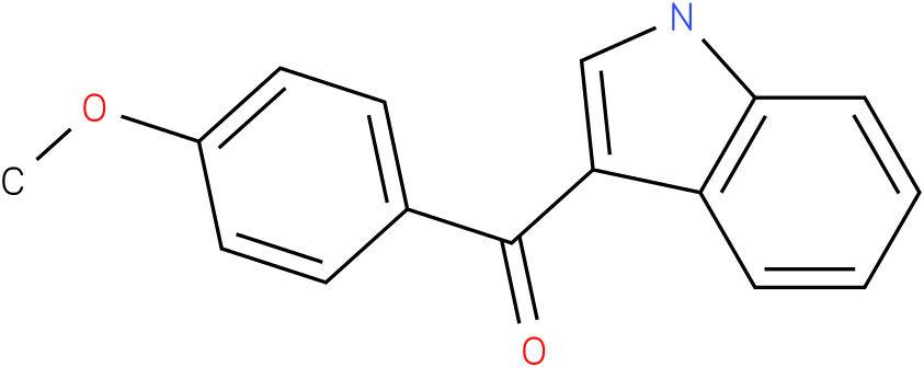 (1H-Indol-3-yl)-(4-methoxy-phenyl)-methanone