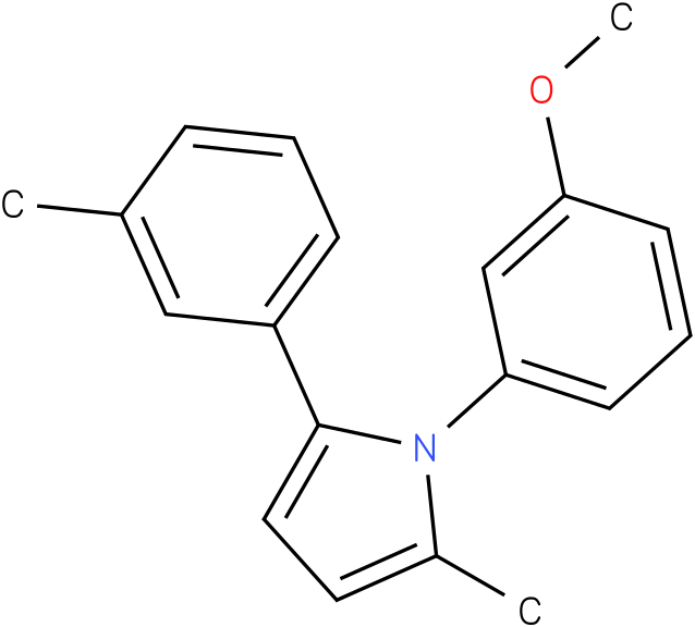 1-(3-Methoxy-phenyl)-2-methyl-5-m-tolyl-1H-pyrrole