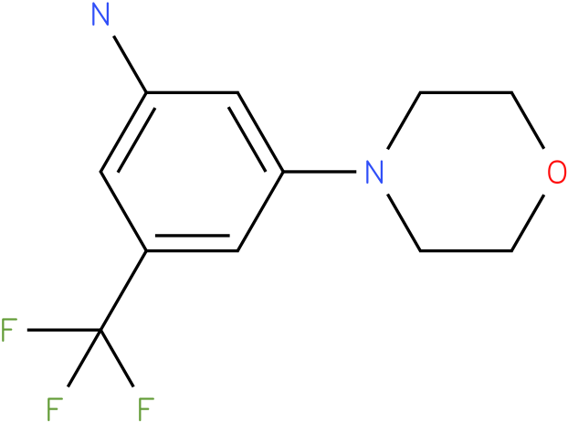 3-Morpholin-4-yl-5-trifluoromethyl-phenylamine